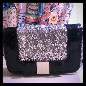 Kate Spade sequin and patten leather Crossbody